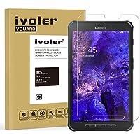Samsung Galaxy Tab Active 8.0 T365 Protector de Pantalla, iVoler Protector de Pantalla de Vidrio Templado Cristal Protector para Samsung Galaxy Tab Active 8.0 T365 -Dureza de Grado 9H, Espesor 0,30 mm, 2.5D Round Edge-[Ultra-trasparente] [Anti-golpe] [Ajuste Perfecto] [No hay Burbujas]- Garantía Incondicional de 18 Meses