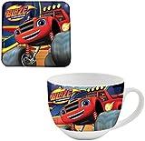 Blaze N94637 MC - Set Tazza e Sottobicchiere, Multicolore