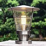 HDMY Europäische außen Spalte spalte lampe edelstahl spalte scheinwerfer wasserdicht terrasse licht Wand gartentor beleuchtung