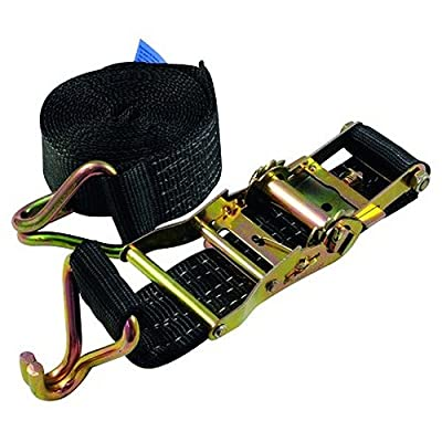 Eurolite 60206793 SHZ Spanngurt H400 Ratsche Spitzhaken schwarz