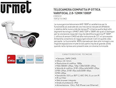 Urmet 1093 141 Videocamera Telecamera Telecamera Telecamera Compatta Ottica Varifocale Antifurto Sistema di sicurezza f4bbc2