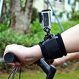 BESTIM INCUK(TM) 360 grados banda de brazo giratorio para GoPro HD cámara héroe 4 3 + 3 2 1banda de brazo giratorio para GoPro Hero 3 4