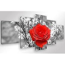 amazon.it: quadri moderni rosa - Soggiorno Bianco E Rosa