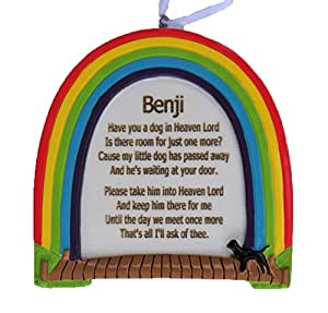 rainbow bridge have you a dog in heaven lord personalised dog