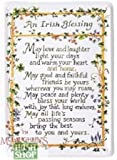Blechschild,Irish Blessing,Irische Segenswuensche - McLaughlin's Irish Shop