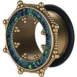eeddoo Brass - Tunnel - Opalit - Gummi 8 mm