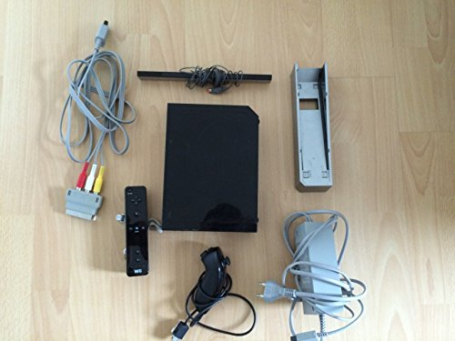 Nintendo Wii - Konsole schwarz
