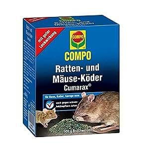 COMPO Ratten-, und Mäuse-Köder Cumarax®