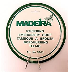 Madeira Machine Embroidery Spring Hoop/Ring 7in Plastic