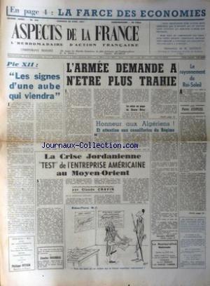 ASPECTS DE LA FRANCE [No 450] du 26/04/1957