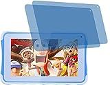 2x Crystal clear klar Schutzfolie für Excelvan Kinder Tablet 7 Zoll Premium Displayschutzfolie Bildschirmschutzfolie Schutzhülle Displayschutz Displayfolie Folie