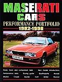Maserati Cars 1982-1998 -Performance Portfolio