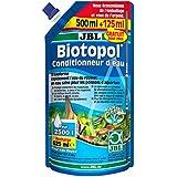 JBL Biotopol - Recambio de Tratamiento de agua para Acuario, 500+ 125ml