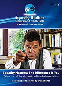Equality, Diversity & Inclusion training DVD-ROM 'The Difference is You'