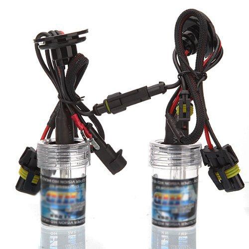 Preisvergleich Produktbild SODIAL(R) 1 Satz von 2 Gluehlampen Scheinwerfer H7 Code Auto Lampe HID XENON 35W LED 8000K Birnen Lampe 12V