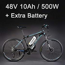 Lixada Campane elettriche per Bicicletta Corno Antipioggia Manubrio MTB per Bicicletta Campana Silice Gel Shell Anello salvaschermo Accessorio per Biciclette