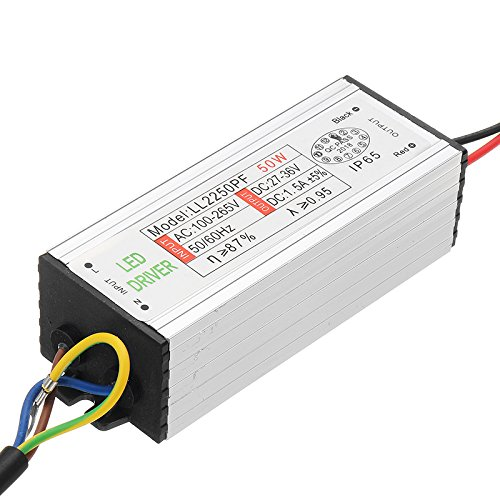 ILS - 50w Waterproof Power Supply AC85-265V To 27-36V LED Power Supply Driver Adapter Low-voltage Surge Protection