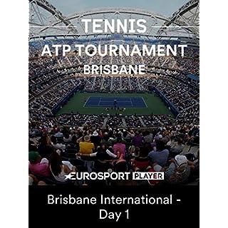 ATP Tennis: Brisbane - Brisbane International - Day 1