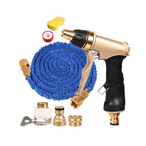 Hengtongtongxun Hochdruck-Autowasch-Wasserpistole, Bewässerungsvorrichtung, explosionssicheres Frostschutz-Teleskop-Wasserrohr, Anzug Qualitativ hochwertige Produkte 2 (Shape : 1, Size : 45m) (Hochdruckreiniger, Frostschutz)