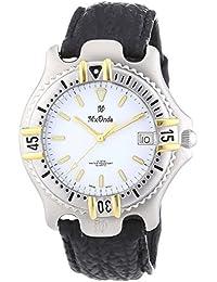 Mx Onda 32-6201-14 - Reloj de pulsera hombre, piel, color negro