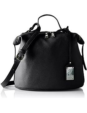 Buffalo Damen Bag S017-167a Leather Pu Schultertasche, 17x38x29 cm