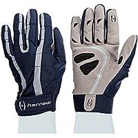 Harrow Rampart Women's Lacrosse Glove, Small, Navy/Steel by Harrow