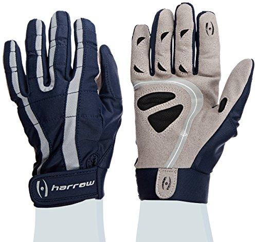 (Harrow Wall Damen Lacrosse Handschuh, klein, Marineblau/Stahl)