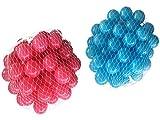 500 Bälle für Bällebad gemischt mix mit türkis und pink