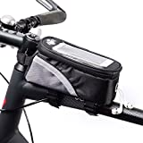 BTR Bike Bag Pannier With Mobile Phone Holder / Mount. Compatible With iPhones, Samsung Galaxy & More