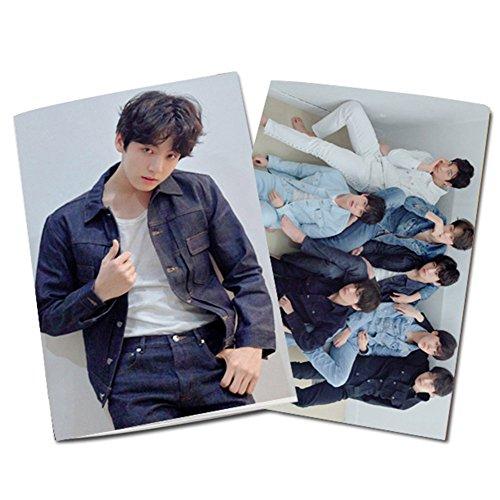 (Yovvin BTS Notizbuch, KPOP Bangtan Jungen LOVE YOURSELF 24 Blätter Notebook für Notizen und Zeichnen, Beste Geschenk für The ARMY (JUNGKOOK))