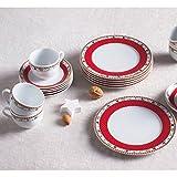 Aronda Kaffee-Set 18 tlg. Sternenflirt Weihnachten