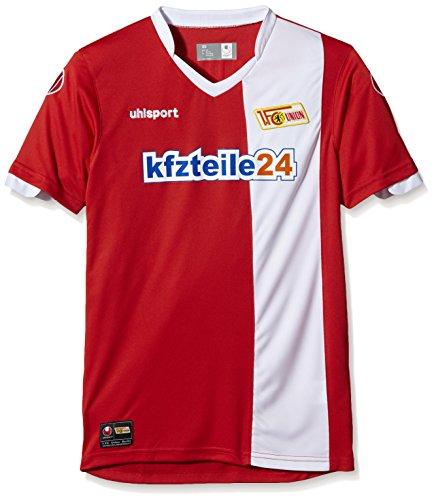 uhlsport Bekleidung Teamsport Union Berlin Heimtrikot KA 14/15, Rot/Weiß, XXL, 1003220010408