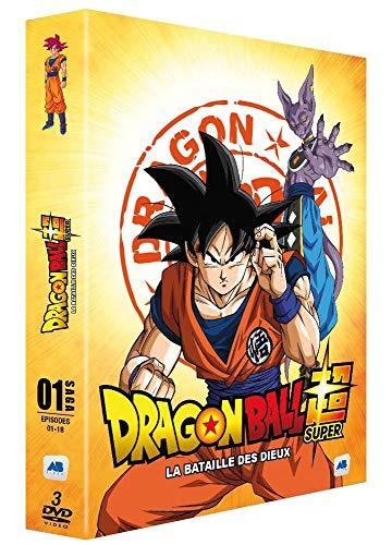 Coffret dragon ball super, vol. 1 : la bataille des dieux, épisodes 1 à 18