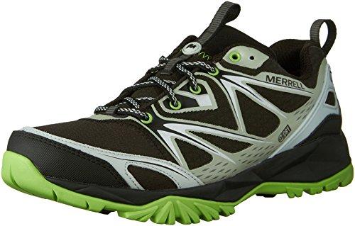 Merrell Capra Bolt escursionismo scarpe impermeabili Black/Silver