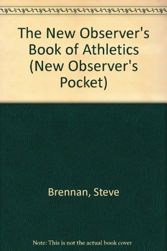 New Observer's Book of Athletics (New Observer's Pocket S.)