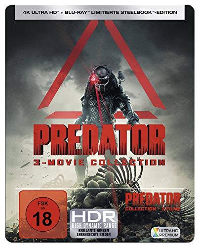 PREDATOR 1-3 [Blu-ray] - Großen, Glatten Gesicht