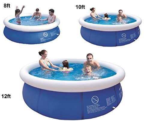 8 39 10 39 12 39 Ft Prompt Set Round Inflatable Family Swimming Paddling Pool Garden Outdoor Inflatable
