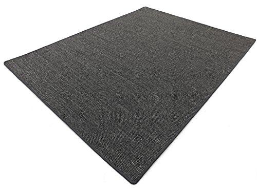 Preisvergleich Produktbild Salsa Design HEVO® Sisal Teppich anthrazit mit klassischer Kettelkante 200x300 cm
