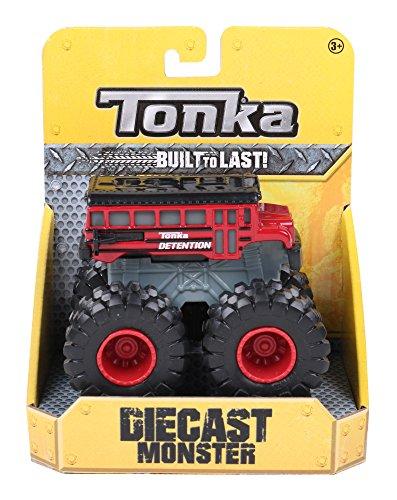 Tonka 07387 Die Cast Monsters - Camión Escolar