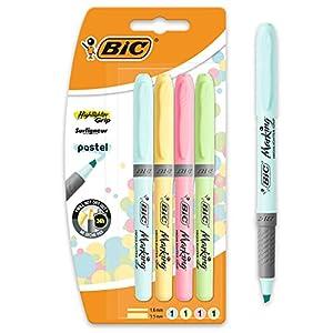 BIC Highlighter Grip Pastel -