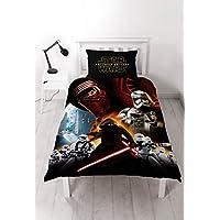 Character World Juego de cama Star Wars The Force Awaken, Conjunto de edredón para una persona
