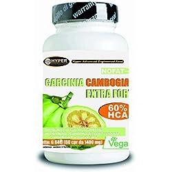 Garcinia Cambogia | Fat Burner - favorise la perte de poids | 60 comprimés | 1000 mg par comprimé! 60% de HCA | Fat Burning puissant - lutte contre la faim - réduit appétit | Il aide à drainer | 1 paquet 2 mois de traitement | Comprimés sans gluten - 100% naturel et végétalien.