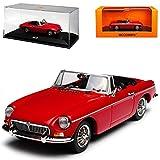 alles-meine.de GmbH MG MGB Cabrio Rot 1962-1980 1/43 Minichamps Maxichamps Modell Auto