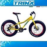 Fatbike 20pollici Mountain Bike Bici Bicicletta per bambini trinx T1007Gang bambini Bike