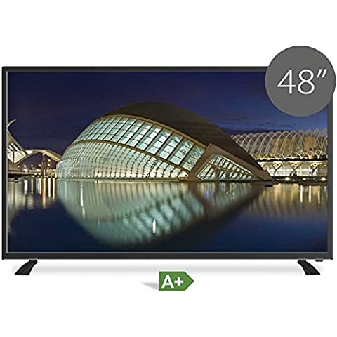 TD SYSTEMS Televisor Led Full HD 48 Pulgadas ultra slim modelo 2016