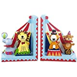 Orange Tree Toys Childrens Vintage Circus Bookends