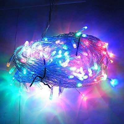 400 Leds 42m Led Lichterkette Weihnachten Party-lichterkette Auen Innen Kette Leuchte Bunt