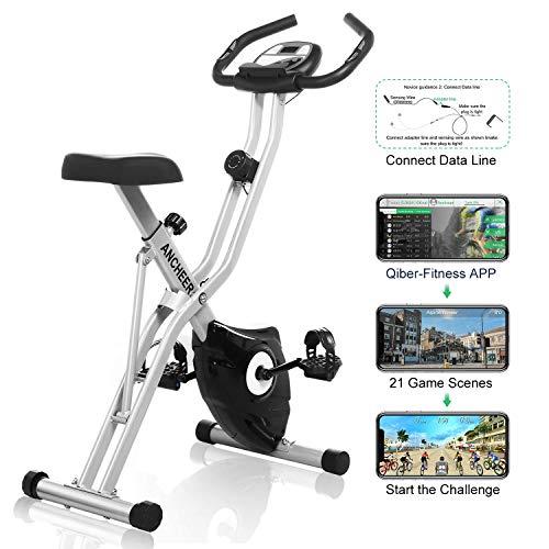 Profun Bicicleta Estática Plegable Xbike Fitness