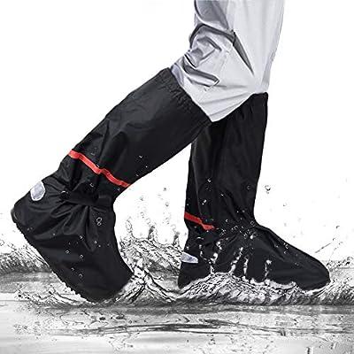 omitium Regenüberschuhe Wasserdicht Schuhüberzieher