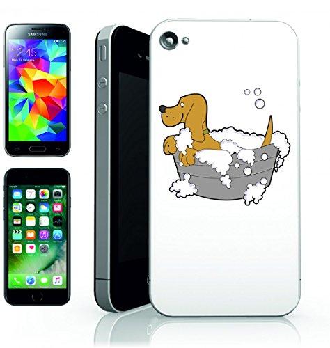 smartphone-case-animale-domestico-del-cane-del-bagno-pulito-di-sapone-della-vasca-di-lavaggio-per-ap